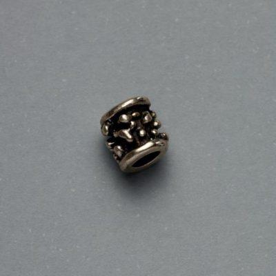 Μεταλλικό Χυτό Στοιχείο Ζάμακ Χάντρα 7Χ6mm