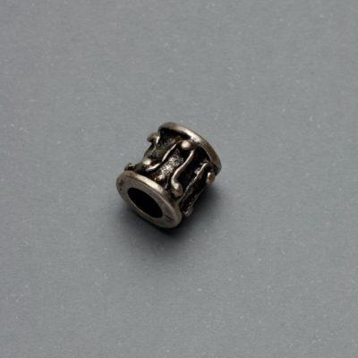 Μεταλλικό Χυτό Στοιχείο Ζάμακ Χάντρα 7Χ8mm