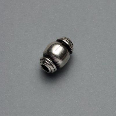 Μεταλλικό Χυτό Στοιχείο Ζάμακ Βαρελάκι 12Χ8mm