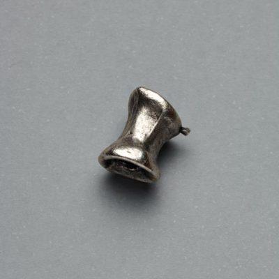Μεταλλικό Χυτό Στοιχείο Ζάμακ Χάντρα 10Χ8mm