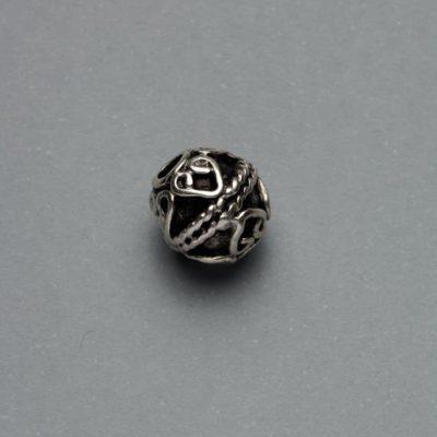 Μεταλλικό Χυτό Στοιχείο Ζάμακ Χάντρα 10Χ10mm