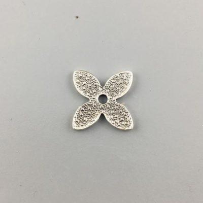 Μεταλλικό Χυτό Στοιχείο Ζάμακ Βοηθητικό Λουλούδι 15Χ15mm