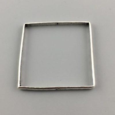 Μεταλλικό Χυτό Στοιχείο Ζάμακ Βοηθητικό Τετράγωνο 50,5Χ50,5mm