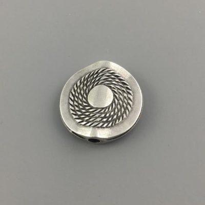 Μεταλλικό Χυτό Στοιχείο Ζάμακ Βοηθητικό Κύκλος 22Χ22mm