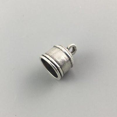 Μεταλλικό Χυτό Στοιχείο Ζάμακ Κούμπωμα 14,5Χ12mm