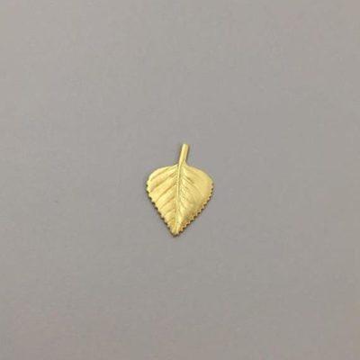Ορειχάλκινο Πρεσσαριστό Φύλλο 17Χ11,5mm