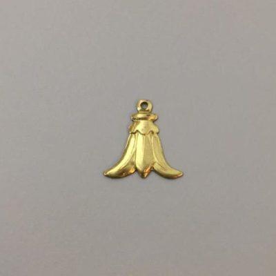 Ορειχάλκινο Πρεσσαριστό Διακοσμητικό 18Χ17,5mm