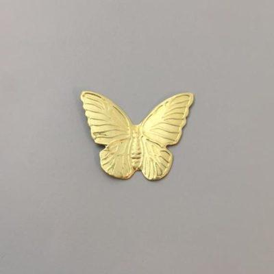 Ορειχάλκινη Πρεσσαριστή Πεταλούδα 29Χ35mm