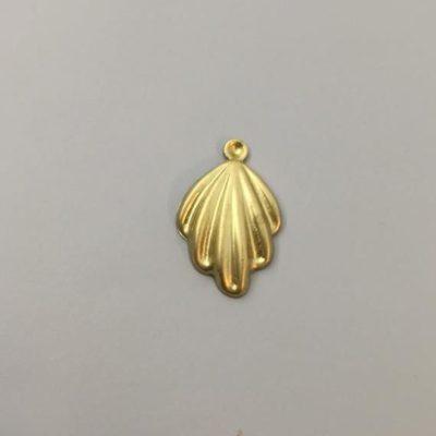 Ορειχάλκινο Πρεσσαριστό Διακοσμητικό 29Χ18,5mm