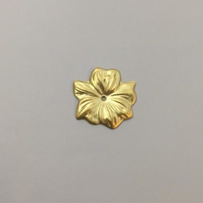 Ορειχάλκινο Πρεσσαριστό Λουλούδι 24Χ24mm