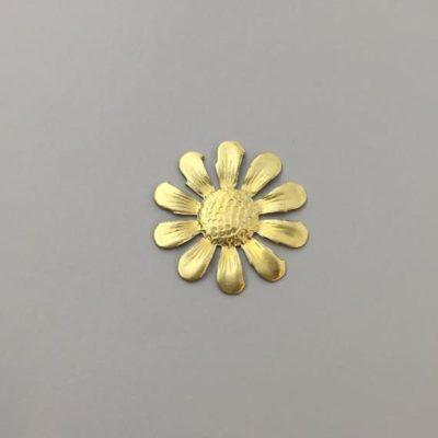 Ορειχάλκινο Πρεσσαριστό Λουλούδι 28Χ28mm