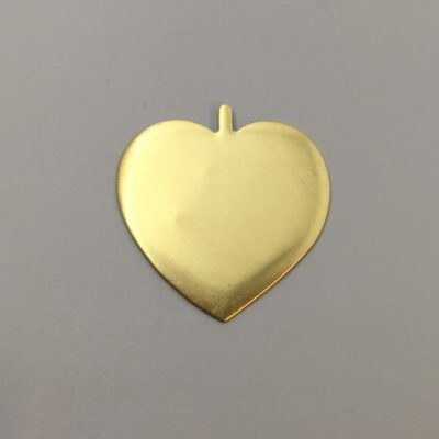 Ορειχάλκινη Πρεσσαριστή Καρδιά 39Χ39mm