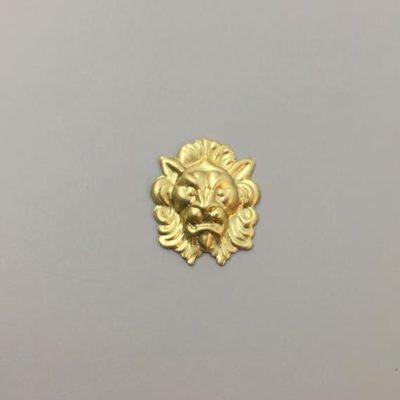Ορειχάλκινο Πρεσσαριστό Λιοντάρι 25Χ21mm