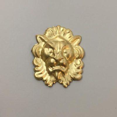 Ορειχάλκινο Πρεσσαριστό Λιοντάρι 43Χ36mm