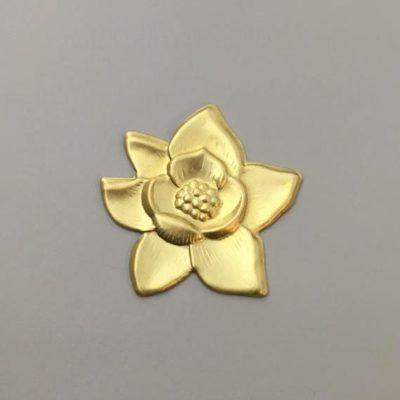 Ορειχάλκινο Πρεσσαριστό Λουλούδι 40Χ40mm