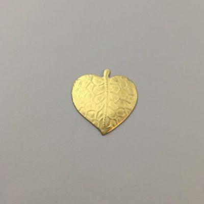 Ορειχάλκινη Πρεσσαριστή Καρδιά 26Χ25mm
