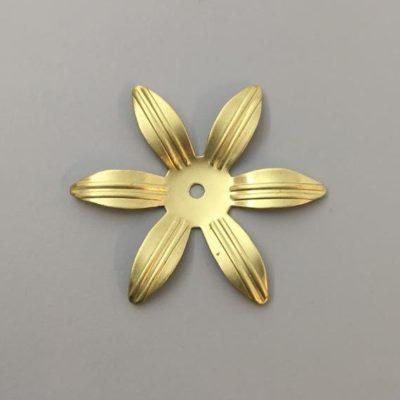 Ορειχάλκινο Πρεσσαριστό Λουλούδι 42X42mm