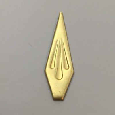 Ορειχάλκινο Πρεσσαριστό Διακοσμητικό 52X16mm