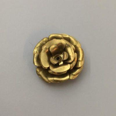 Ορειχάλκινο Πρεσσαριστό Λουλούδι 29X29mm