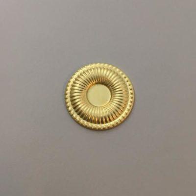 Ορειχάλκινο Πρεσσαριστό Στρογγυλό Φ29mm