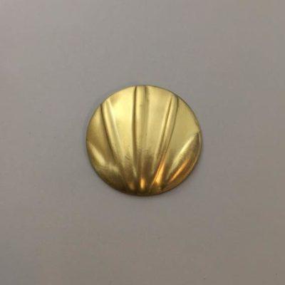 Ορειχάλκινο Πρεσσαριστό Στρογγυλό Φ33mm