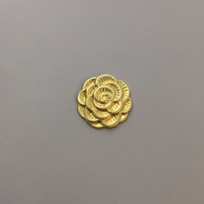 Ορειχάλκινο Πρεσσαριστό Λουλούδι 22Χ22mm
