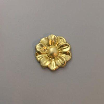 Ορειχάλκινο Πρεσσαριστό Λουλούδι 29Χ29mm