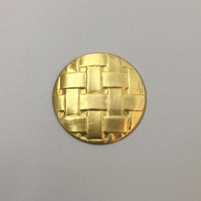 Ορειχάλκινο Πρεσσαριστό Στρογγυλό Φ37mm