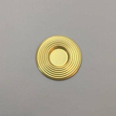 Ορειχάλκινο Πρεσσαριστό Στρογγυλό Φ30mm