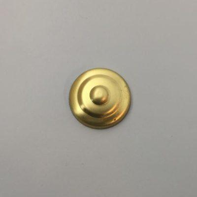 Ορειχάλκινο Πρεσσαριστό Στρογγυλό Φ24mm