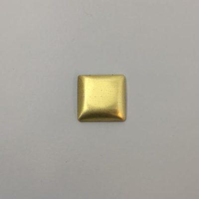 Ορειχάλκινο Πρεσσαριστό Τετράγωνο 19Χ19mm