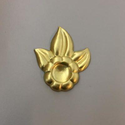 Ορειχάλκινο Πρεσσαριστό Λουλούδι 54x46mm