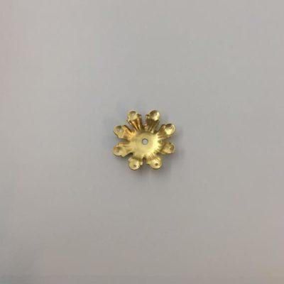 Ορειχάλκινο Πρεσσαριστό Διακοσμητικό 37Χ37mm