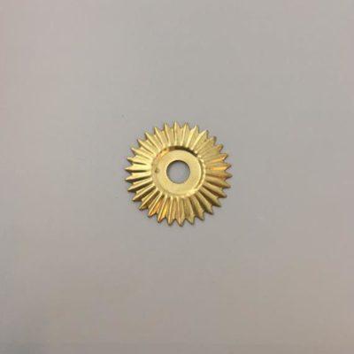 Ορειχάλκινο Πρεσσαριστό Διακοσμητικό 49Χ49mm
