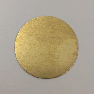 Ορειχάλκινος Πρεσσαριστός Δίσκος Φ92mm