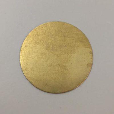 Ορειχάλκινος Πρεσσαριστός Δίσκος Φ80mm