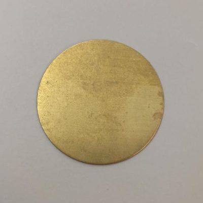 Ορειχάλκινος Πρεσσαριστός Δίσκος Φ70mm