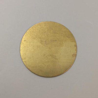 Ορειχάλκινος Πρεσσαριστός Δίσκος Φ60mm