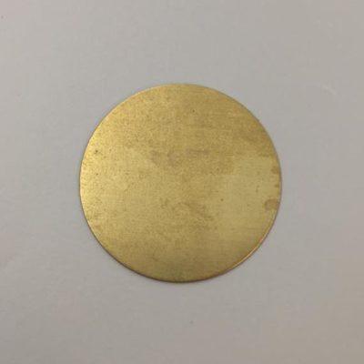 Ορειχάλκινος Πρεσσαριστός Δίσκος Φ54mm