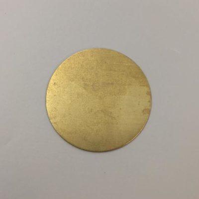 Ορειχάλκινος Πρεσσαριστός Δίσκος Φ50mm