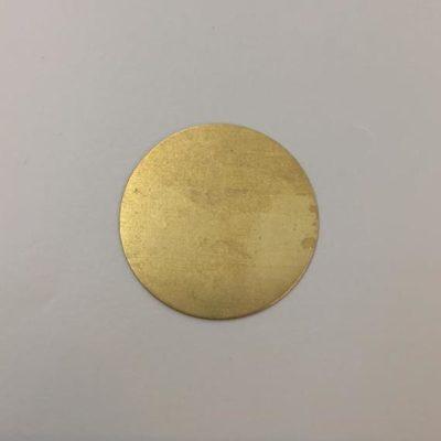 Ορειχάλκινος Πρεσσαριστός Δίσκος Φ35mm