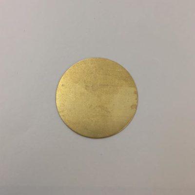 Ορειχάλκινος Πρεσσαριστός Δίσκος Φ32mm