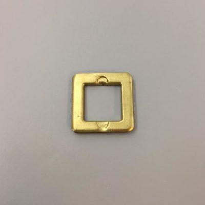 Ορειχάλκινο Πρεσσαριστό Τετράγωνο 28Χ28mm