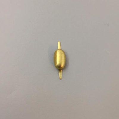 Ορειχάλκινο Πρεσσαριστό Διακοσμητικό 25Χ7mm