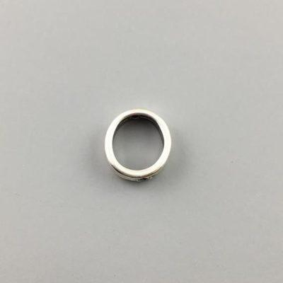 Μεταλλικό Χυτό Στοιχείο Ζάμακ Κύκλος Βοηθητικό 10,3Χ11,3mm